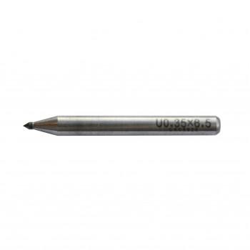 Varf de carbura pentru creion de trasat