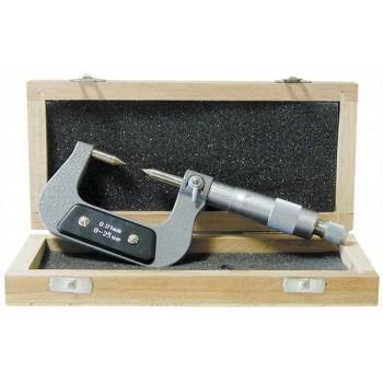 Micrometru pentru caneluri 0-25 mm