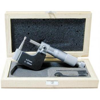 Micrometru pentru tevi 0-25 mm