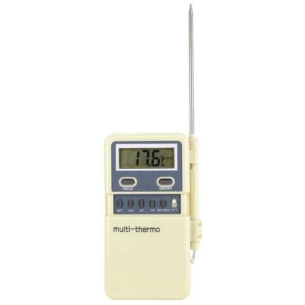 Termometru de buzunar cu sonda si alarma