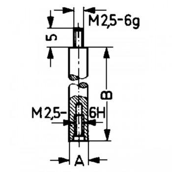 Palpator TIP D - 100 pentru Comparator