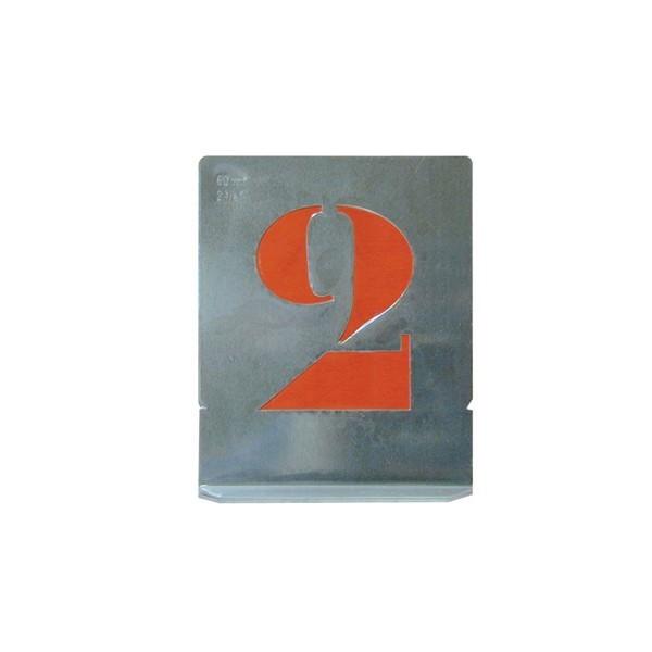 Set sablon cifre 70 mm (0-9)