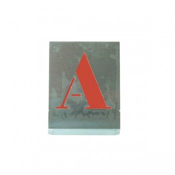 Set sablon litere 80 mm (A-Z)