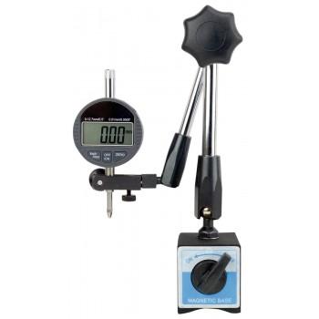Ceas comparator digital 12 mm cu suport magnetic