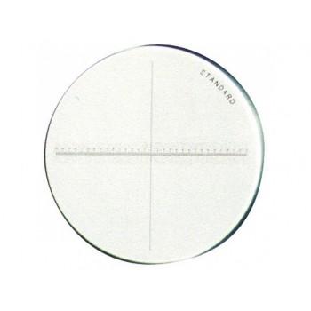 Placa combinata unghiuri si arce de cerc pentru lupa de masura