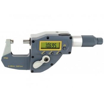 Micrometru digital cu deplasare rapida 0 - 25 mm protectie IP65