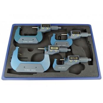 Set 4 Micrometre digitale 0-100 mm