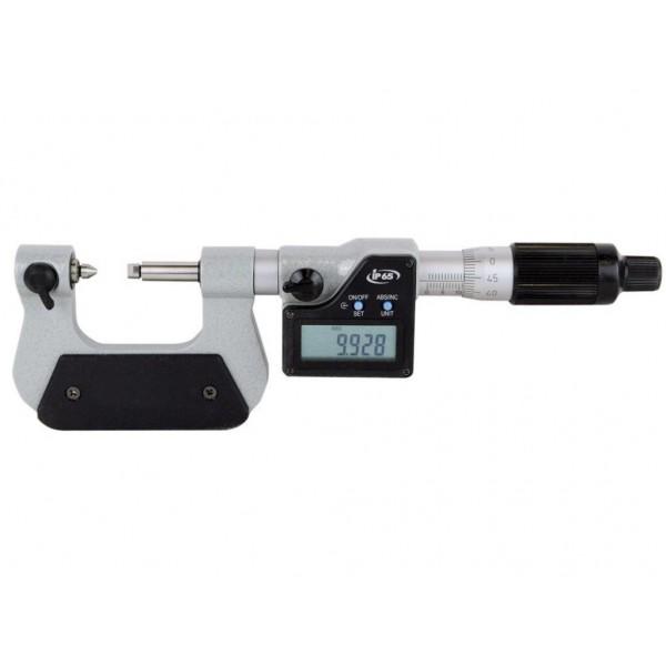 Micrometru digital pentru filete 0 - 25 mm protectie IP65