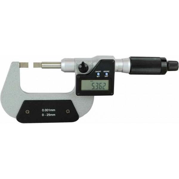 Micrometru digital cu palpatoare tip cutit 0 - 25 mm