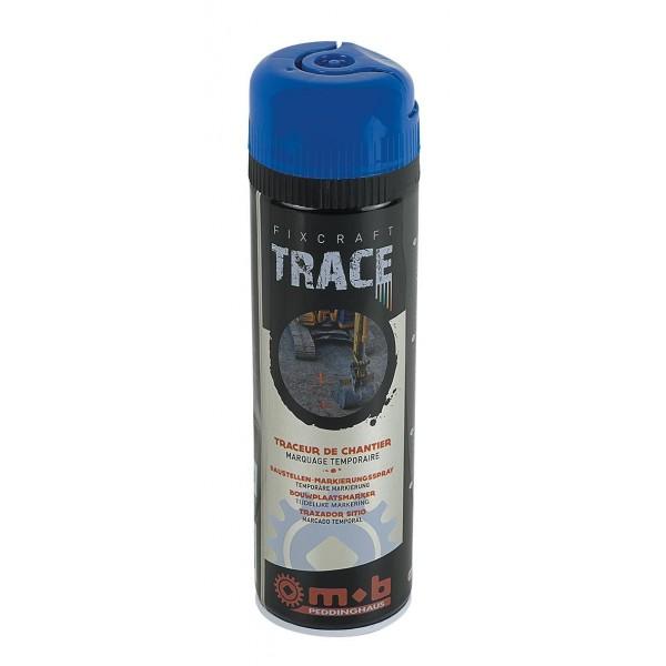 Spray albastru pentru trasaje si marcaje temporare in constructii