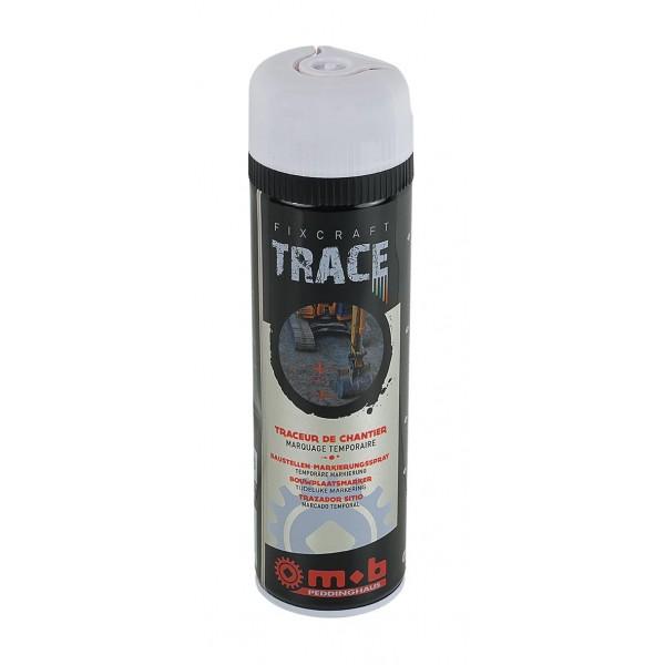 Spray alb pentru trasaje si marcaje temporare in constructii