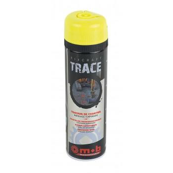 Spray galben pentru trasaje si marcaje temporare in constructii