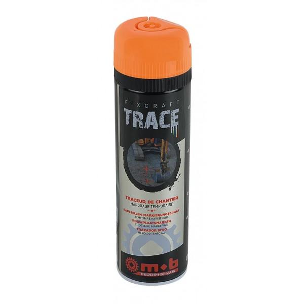 Spray orange pentru trasaje si marcaje temporare in constructii