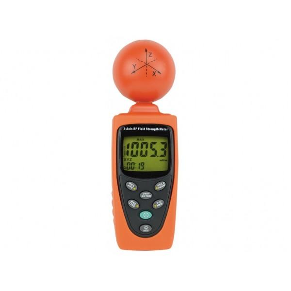 Detector de unde magnetice pe 3 axe WIFI, 3G, 4G pentru electrosensibilitate