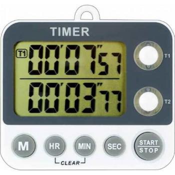 Contor digital cu numaratoare inversa 100 minute ecran 2 linii