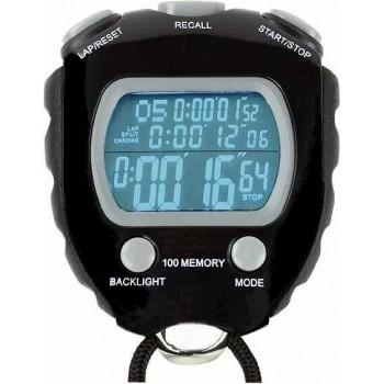 Cronometru digital 100 memorii