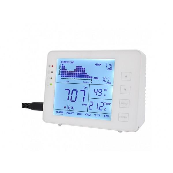 Monitor pentru calitatea aerului cu senzor CO2 temperatura si umiditate