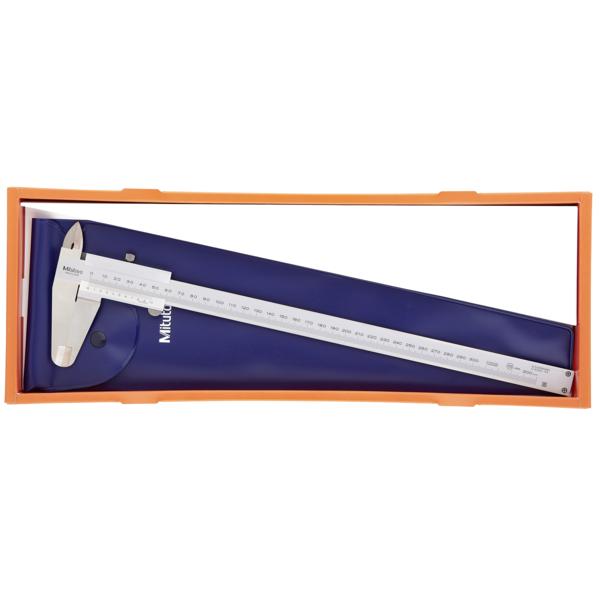 Subler mecanic profesional Mitutoyo® cu ciocuri superioare incrucisate 0 - 300 x 0.02 mm