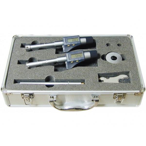 Set 2 micrometre digitale de interior cu 3 palpatoare 12-20 mm