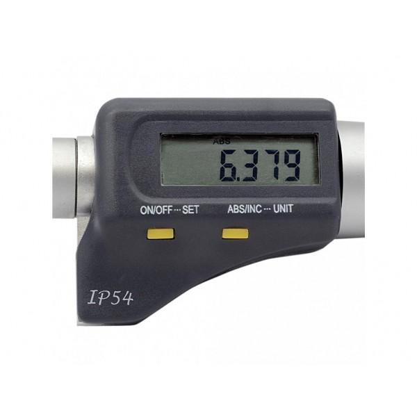 Set 3 micrometre digitale de interior cu 3 palpatoare 6-12 mm