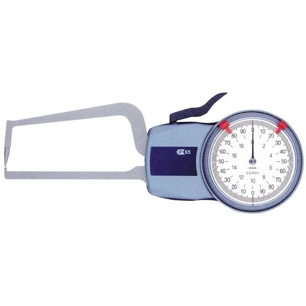 Ceas comparator mecanic - masuratori pereti tuburi 10 mm ➂ Ø1.5 cert. DKD