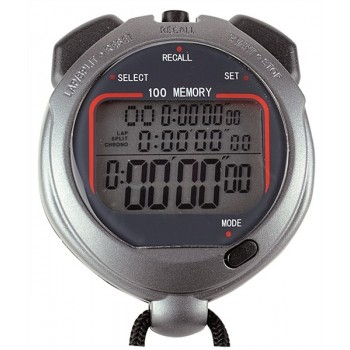 Cronometru digital cu 100 memorii