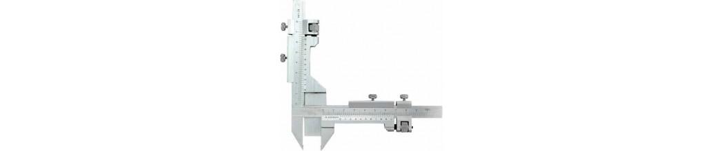 Subler compas - Rigla de trasat linii paralele - mini subler