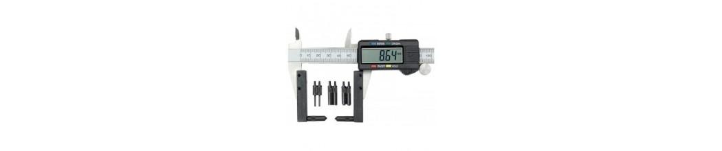 Accesorii sublere - stativ subler - masurari filete exterioare