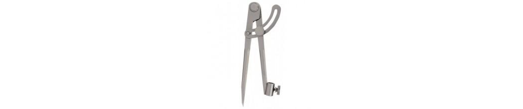 Compas profesional - compas cu arc - compasuri cu sina